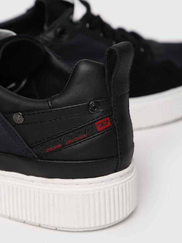 Diesel - S-DANNY LC W, Black - Sneakers - Image 4