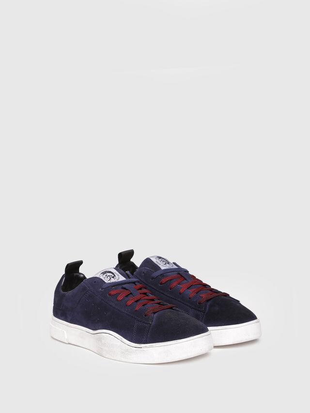 Diesel - S-CLEVER LOW, Dark Blue - Sneakers - Image 2