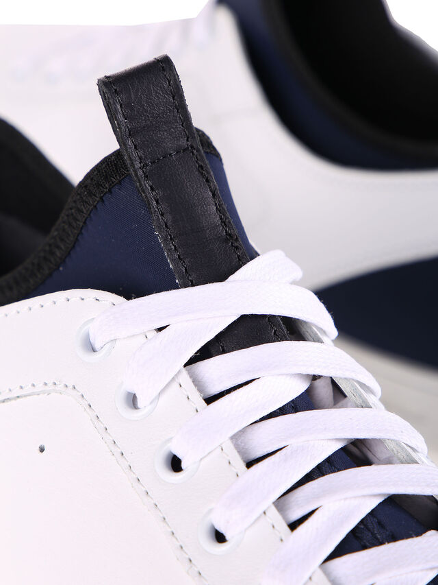 Diesel Black Gold S18ZERO, White - Sneakers - Image 7