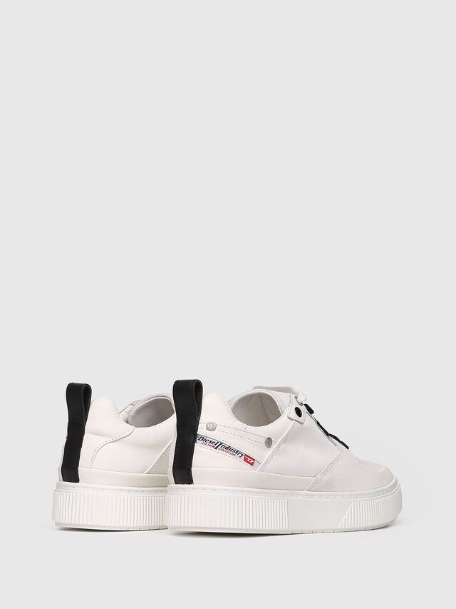 Diesel - S-DANNY LC W, White - Sneakers - Image 2