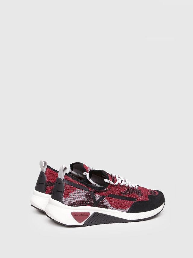 Diesel - S-KBY, Black/Red - Sneakers - Image 3