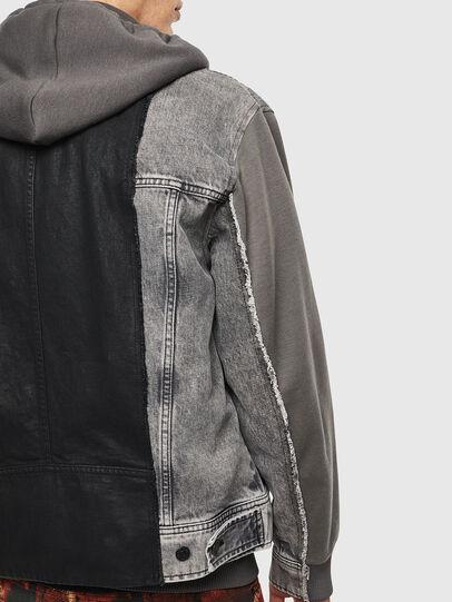 Diesel - D-LOSTY, Black - Denim Jackets - Image 5