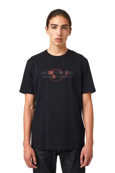 T-shirt with alphabet logo