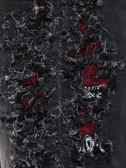 Diesel - Krooley JoggJeans 069RA, Black/Dark grey - Jeans - Image 4