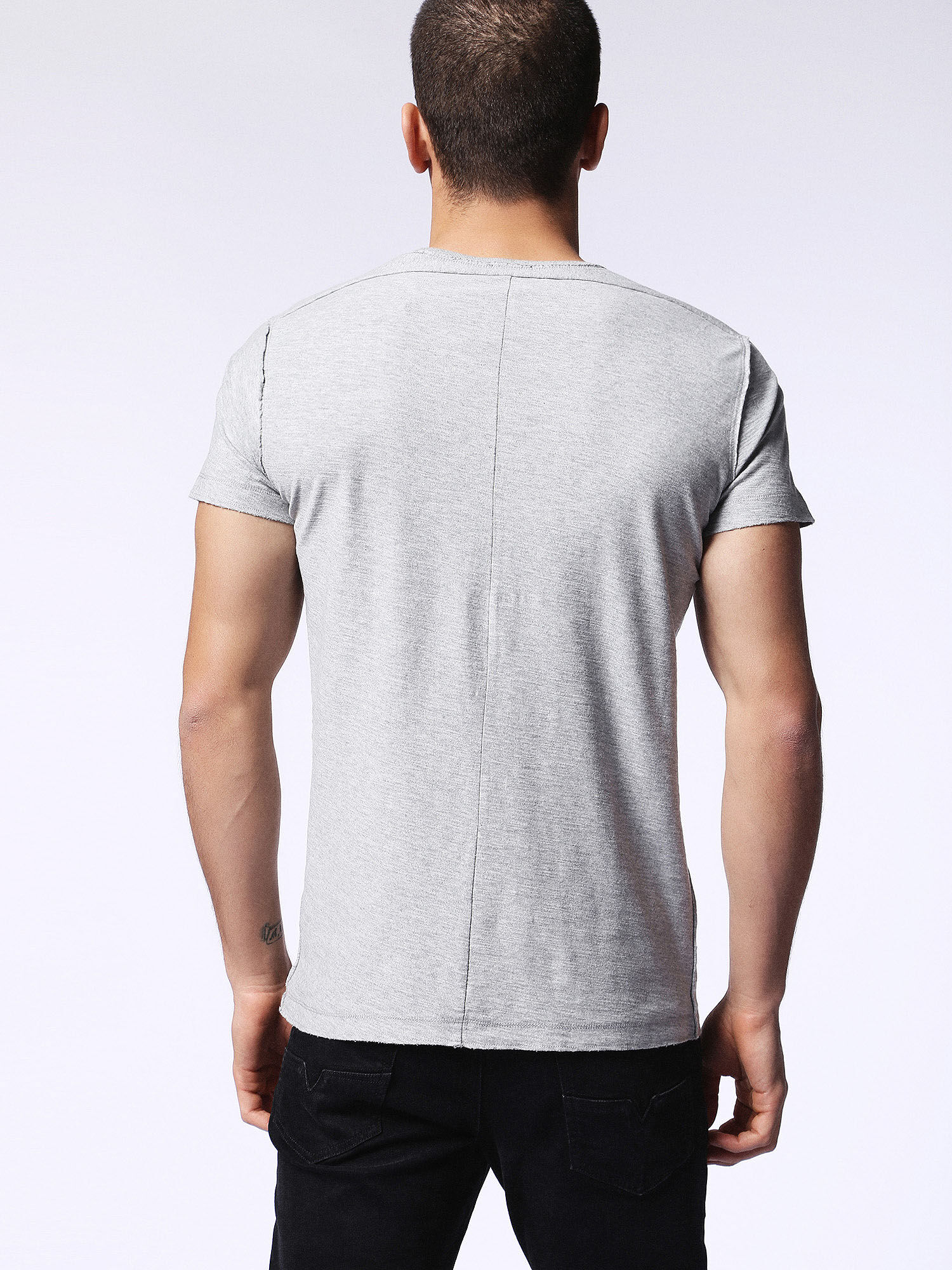 00SRFL00KDY T-Shirts Man T-KNAK by Diesel Grey