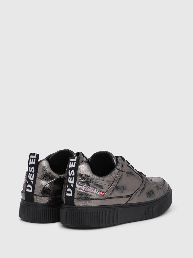 Diesel - S-DANNY LC II W, Silver/Black - Sneakers - Image 3