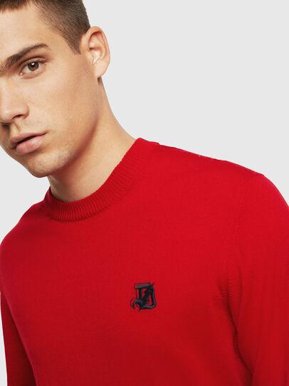 Diesel - K-AMIMI, Red - Knitwear - Image 3