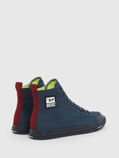 Diesel - S-ASTICO MID CUT, Navy Blue - Sneakers - Image 3