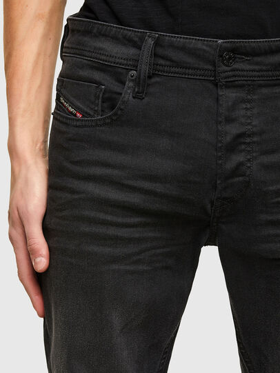 Diesel - Sleenker C69EQ, Black/Dark grey - Jeans - Image 3