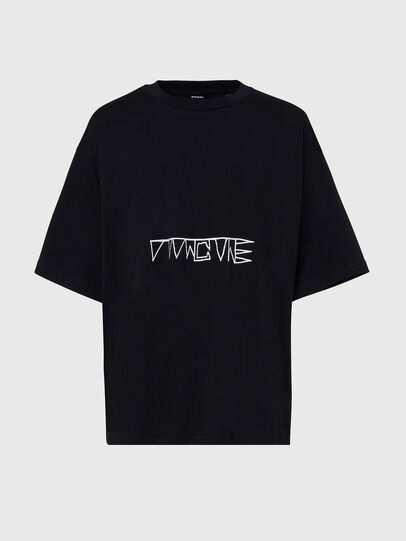 Diesel - T-BALL-X1, Black - T-Shirts - Image 1