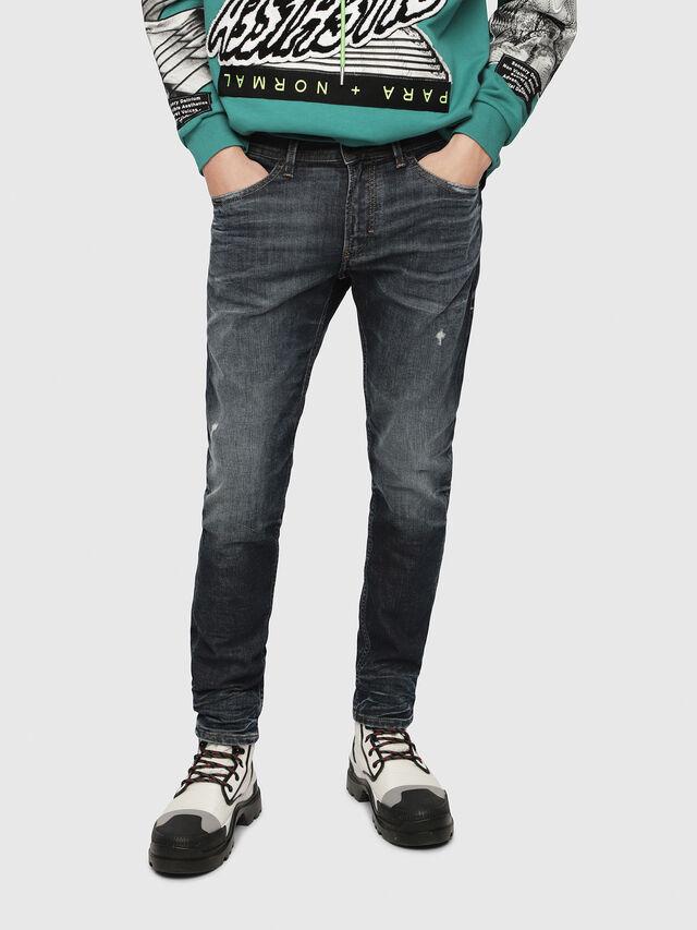 Diesel - Thommer JoggJeans 087AI, Dark Blue - Jeans - Image 1
