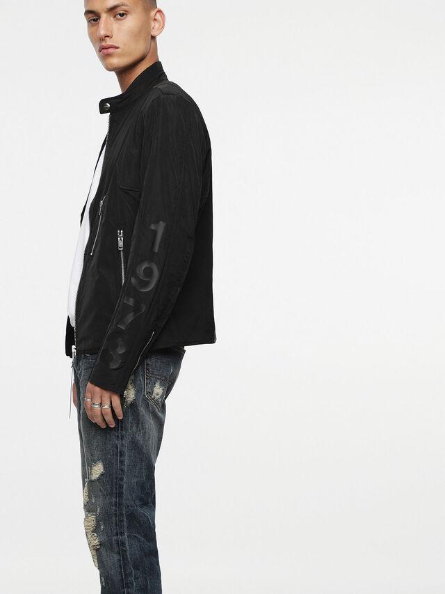 Diesel - J-MEXIC, Opaque Black - Jackets - Image 3