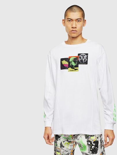 Diesel - T-GLYNIS-J1, White - T-Shirts - Image 1