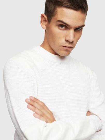 Diesel - K-LESTER, White - Knitwear - Image 3