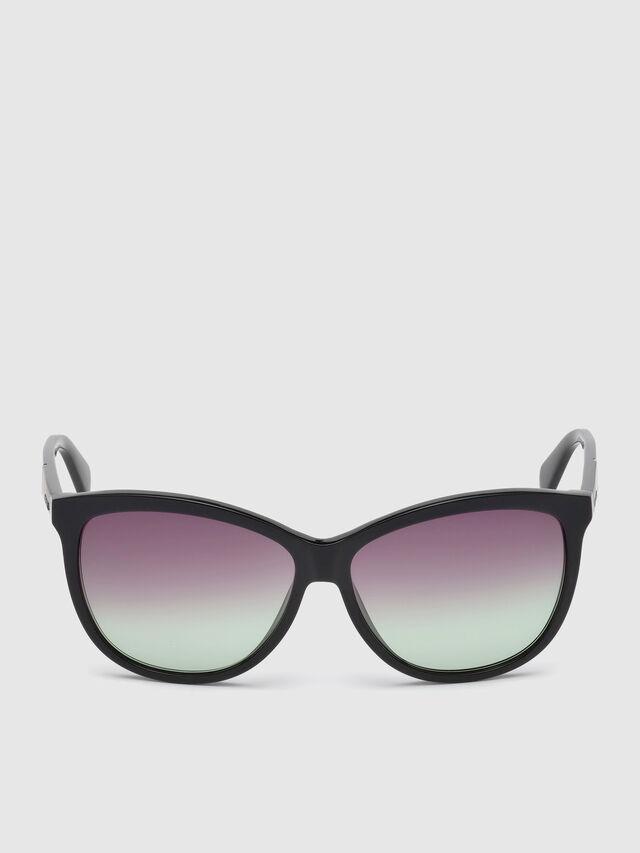 Diesel - DL0221, Black - Sunglasses - Image 1
