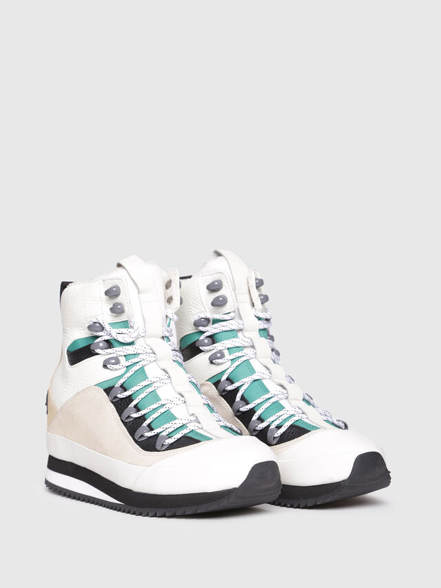 Diesel - S-TRIBUTE MC, Multicolor/White - Sneakers - Image 2