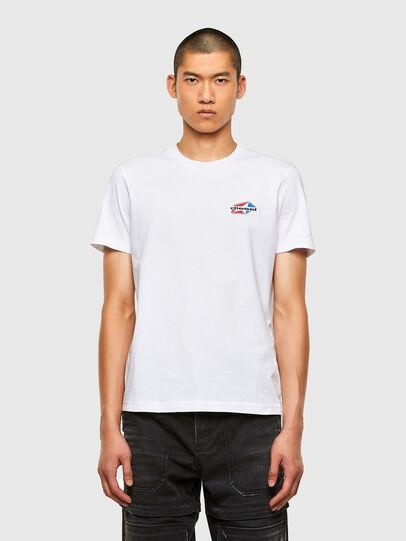 Diesel - T-DIEGOS-K36, White - T-Shirts - Image 1