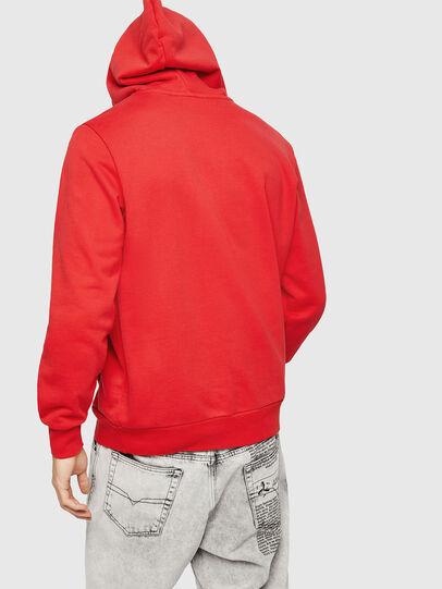 Diesel - S-GIR-HOOD-A1, Fire Red - Sweaters - Image 2