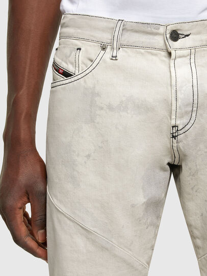 Diesel - D-Kras 009ZC, Light Grey - Jeans - Image 4