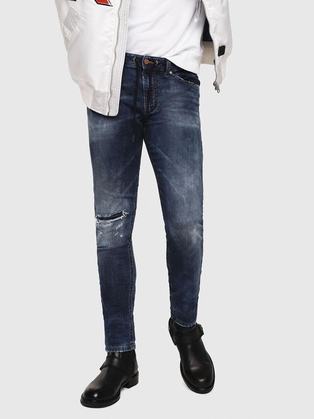 Diesel - Thommer JoggJeans 069AA, Medium blue - Jeans - Image 1