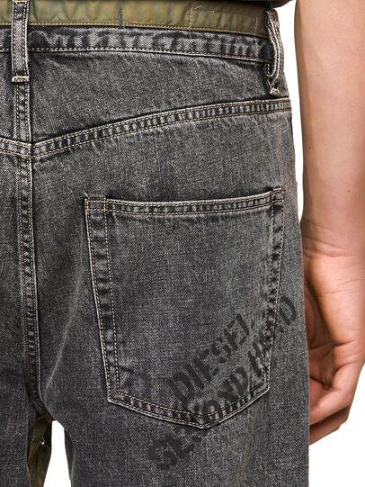 Diesel - DxD-P2 0CBBH, Black/Dark grey - Jeans - Image 3