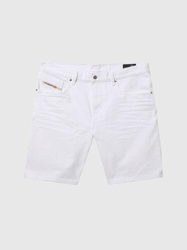 Denim Slim shorts with Polygiene ViralOff®