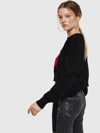 Diesel - M-LINDA, Black/Red - Knitwear - Image 4