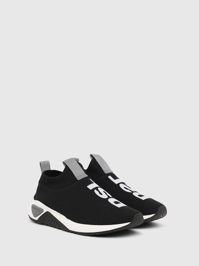Diesel - S-KB SL II, Black/Blue - Sneakers - Image 2
