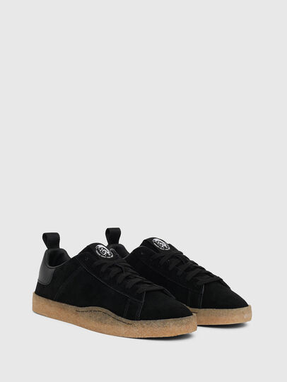 Diesel - S-CLEVER PAR LOW, Black - Sneakers - Image 2