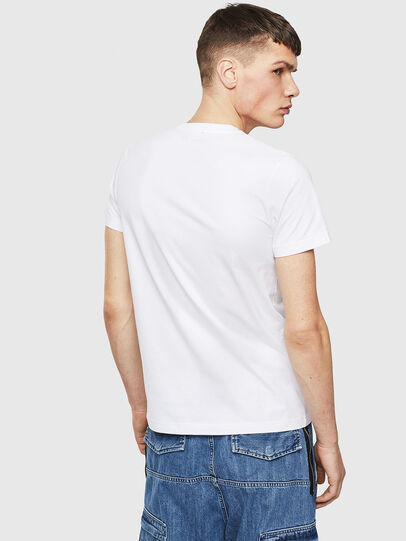 Diesel - T-WORKY-S1, White - T-Shirts - Image 2