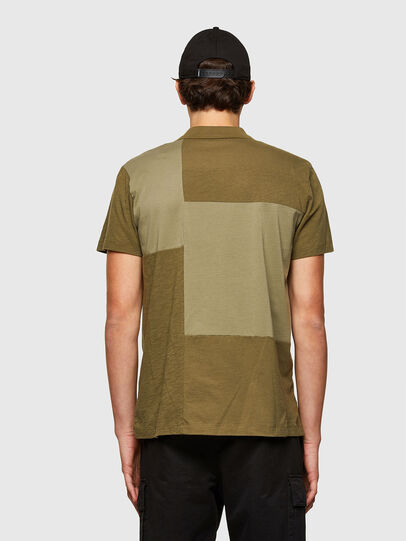 Diesel - T-POLWORK, Military Green - Polos - Image 2
