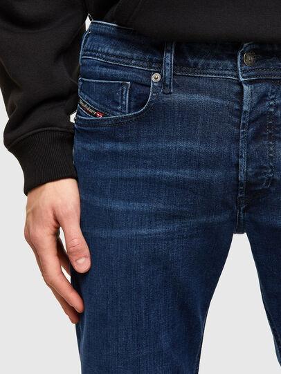 Diesel - Sleenker 009QI, Dark Blue - Jeans - Image 3