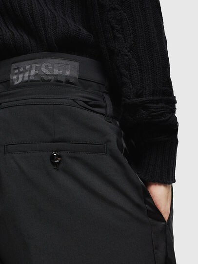 Diesel - P-HOOKY, Black - Pants - Image 4