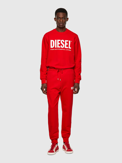 Diesel - P-TARY-ECOLOGO, Red - Pants - Image 4