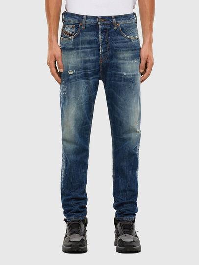 Diesel - D-Vider 009KG, Dark Blue - Jeans - Image 1