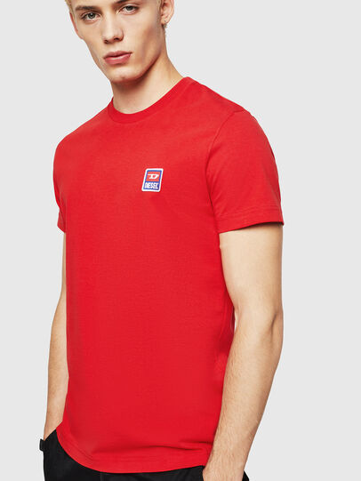 Diesel - T-DIEGO-DIV, Fire Red - T-Shirts - Image 1