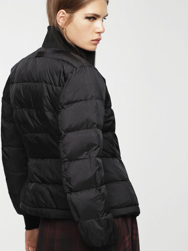 Diesel - W-BLANKYT, Black - Winter Jackets - Image 4