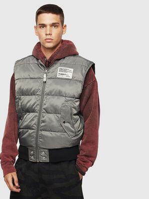 W-KOSLOV-SL, Olive Green - Winter Jackets