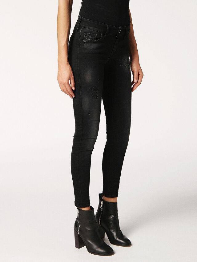 SLANDY 0687S, Black Jeans