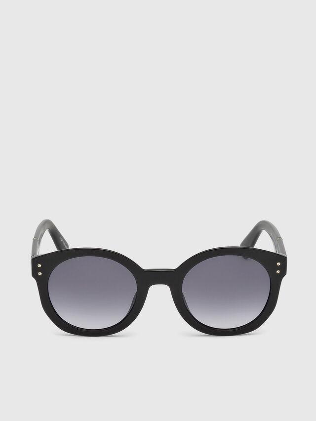 Diesel - DL0252, Black - Sunglasses - Image 1