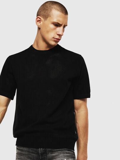 Diesel - K-LORE, Black - Knitwear - Image 1