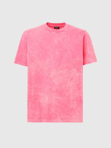 Acid-wash T-shirt