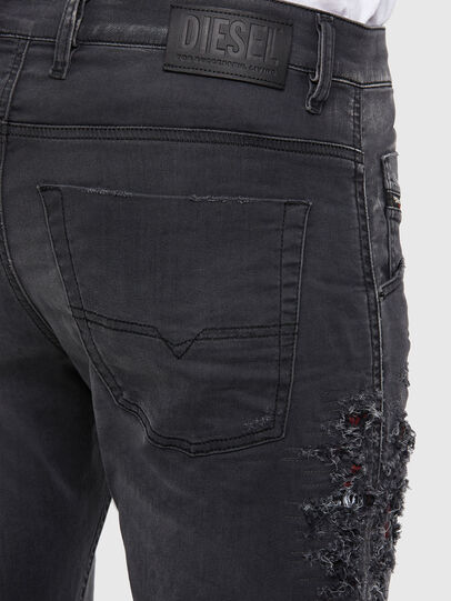 Diesel - Krooley JoggJeans 069RA, Black/Dark grey - Jeans - Image 5