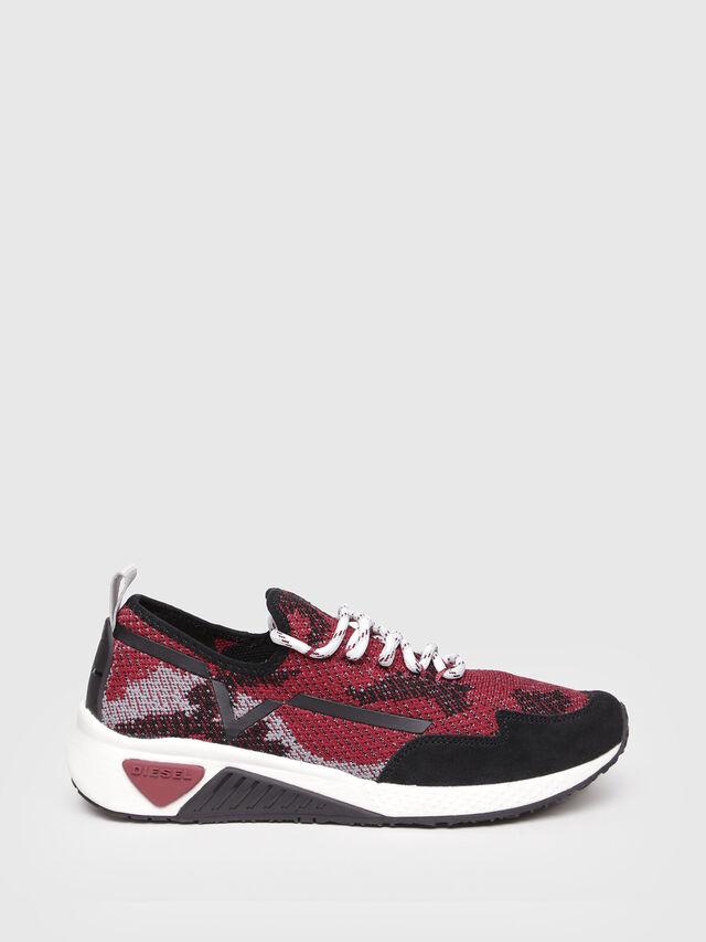 Diesel - S-KBY, Black/Red - Sneakers - Image 1