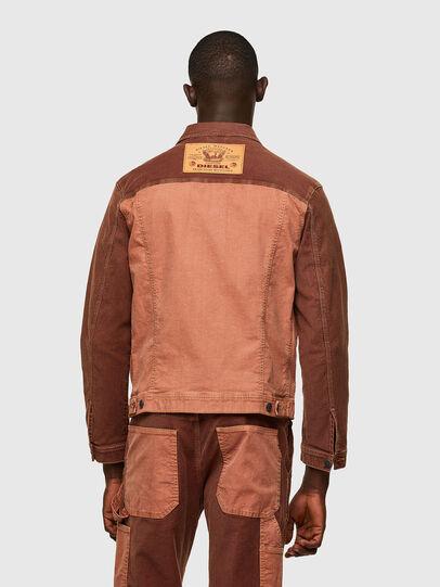 Diesel - D-YOGI-SP1 JOGGJEANS, Brown - Denim Jackets - Image 2