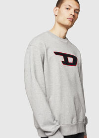 S-CREW-DIVISION-D, Light Grey