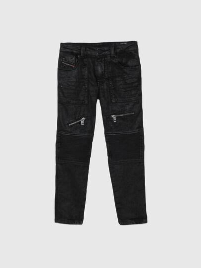 Diesel - D-DERROT-SP-J JOGGJEANS, Black - Jeans - Image 1