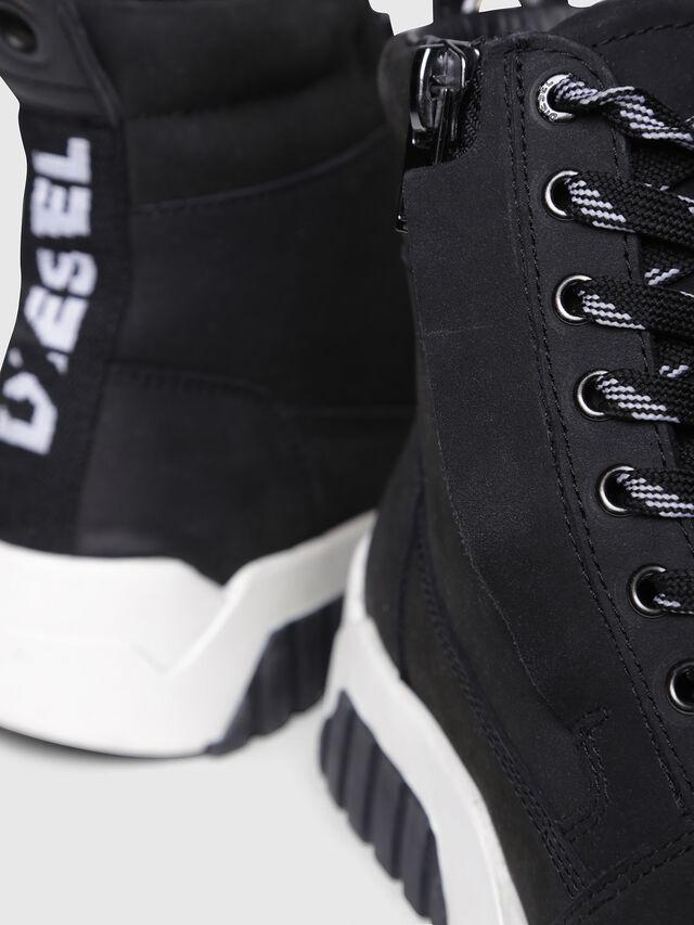 Diesel - S-RUA MC W, Black - Sneakers - Image 4