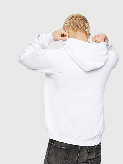 Diesel - S-DIVISION-D, White - Sweaters - Image 2