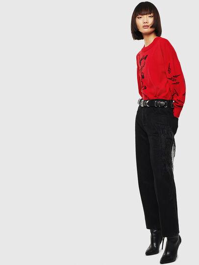 Diesel - CL-M-TESS, Red - Knitwear - Image 7